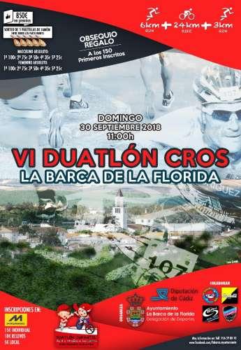 VI Duatlon Cros La Barca de la Florida