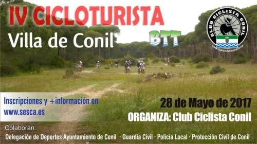 IV Cicloturista BTT Villa de Conil