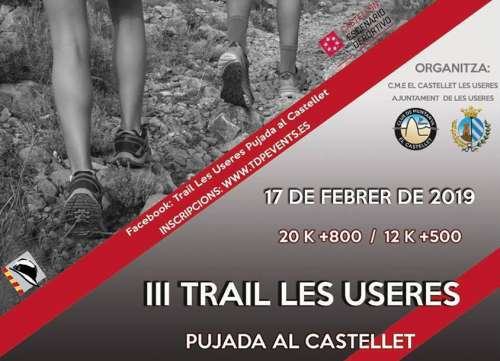 Trail Running III Trail les Useres