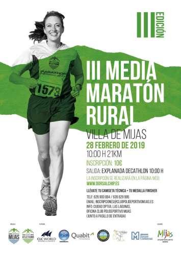 III Media Maratón Rural Villa de Mijas