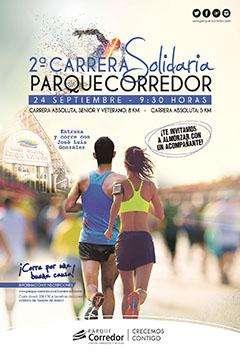 II Carrera Solidaria Parque Corredor