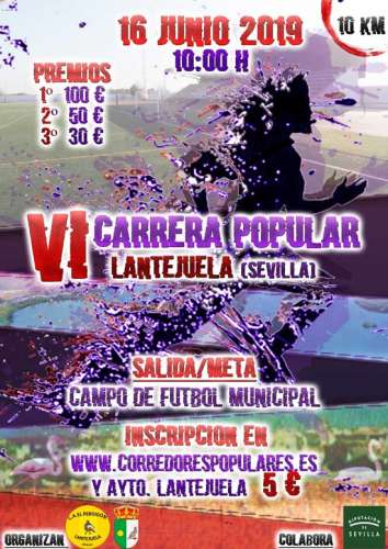 VI Carrera Popular Lantejuela