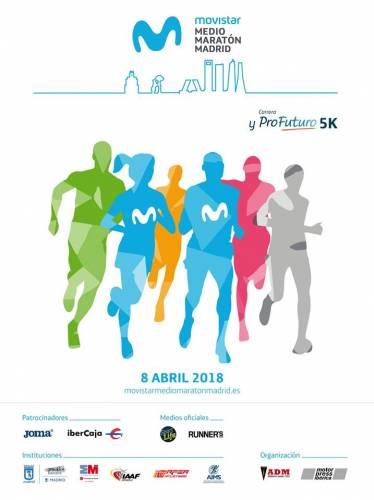 XVIII Movistar Medio Maratón de Madrid
