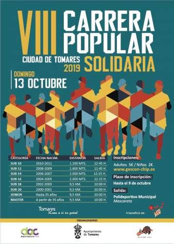 VIII Carrera Popular Solidaria de Tomares