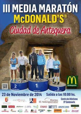 III Media Maratón McDonalds Ciudad de Antequera