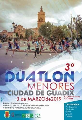 III Duatlón de Menores Ciudad de Guadix