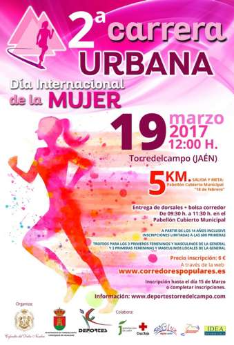 II Carrera Urbana Dia Internacional de la Mujer
