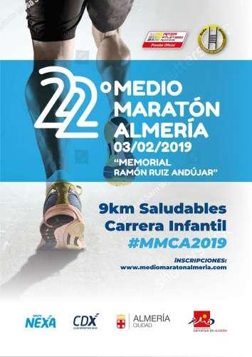 Carrera XXII Medio Maratón Ciudad de Almería