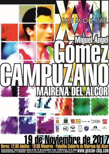 XXII Memorial Miguel Ángel Gómez Campuzano