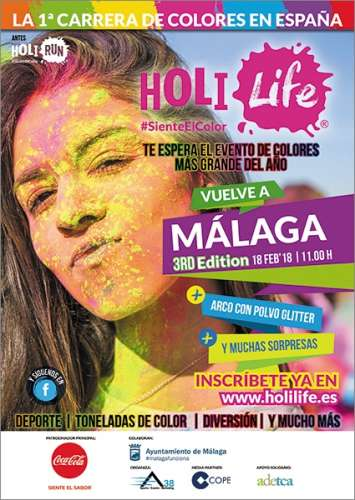 IV Holi Life Málaga