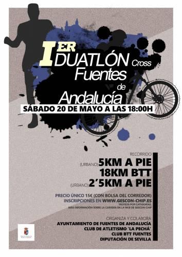 I Duatlon Cross Fuentes de Andalucía