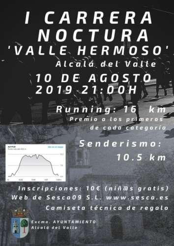I Carrera Nocturna Valle Hermoso