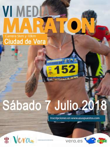 VI Media Maratón Ciudad de Vera