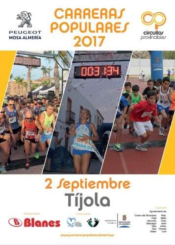 Carrera Popular de Tijola 2017