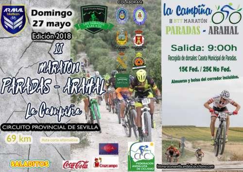II Maratón MTB La Campiña Arahal Paradas