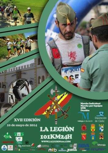 XVII 101 Km - 24 horas La Legión