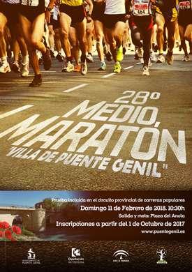 28 Medio Maratón Villa de Puente Genil