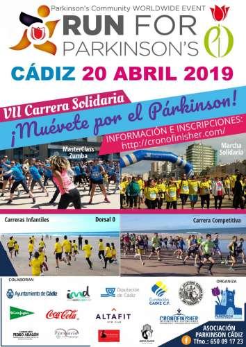 VII Carrera Solidaria Run For Parkinson Cádiz