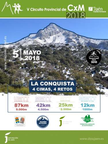 Carrera Maratón Magina Top Trail
