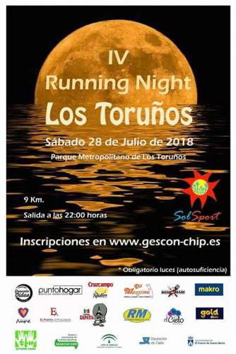 Carrera IV Running Night Los Toruños