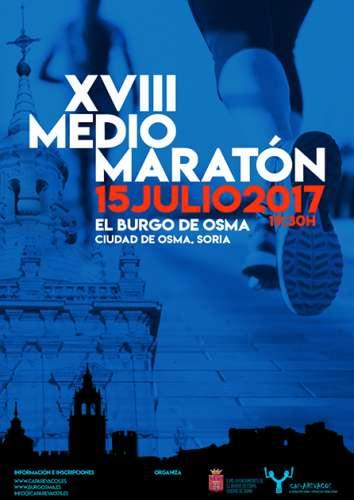 XVIII Medio Maratón 2017 de El Burgo de Osma