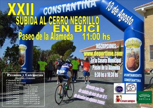 XXII Subida  al  Cerro Negrillo  en  Bici