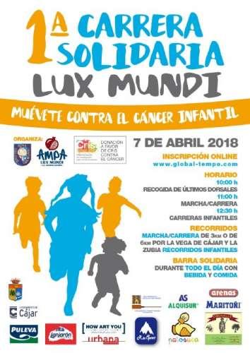 I Carrera Solidaria Lux Mundi