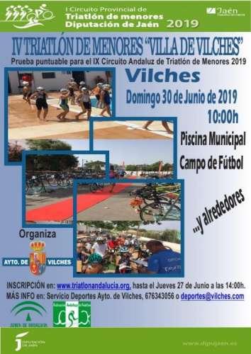 IV Triatlón de Menores Villa de Vilches