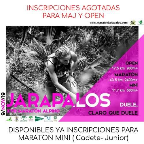 XVIII Maratón Alpino Jaraplos