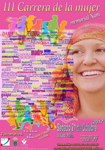 III Carrera de la Mujer Memorial Nani