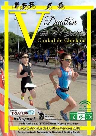 Carrera V Duatlón de Menores Ciudad de Chiclana