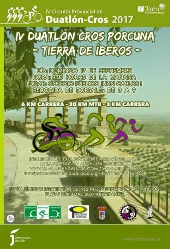 Carrera IV Duatlón Cros De Porcuna - Tierra De Íberos