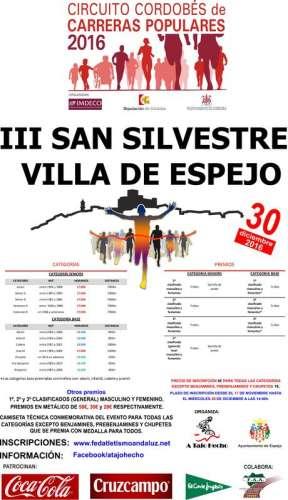 III San Silvestre Villa de Espejo