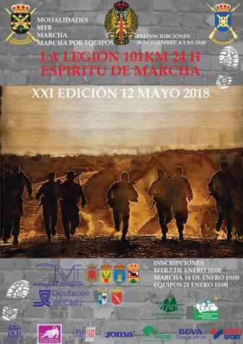 XXI 101 Km - 24 horas La Legión