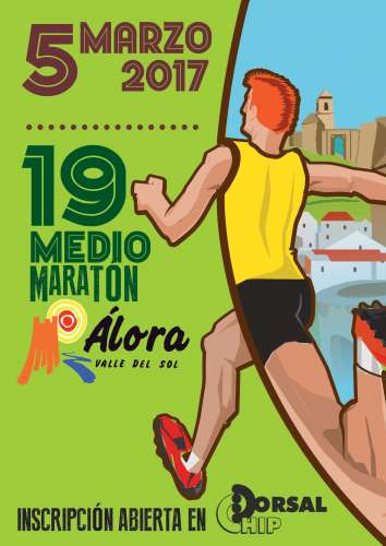 XIX Medio Maratón Álora Valle del Sol