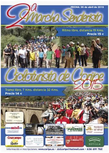 II Marcha senderista y Cicloturista de Coripe