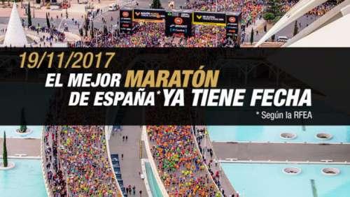 XXXVII Maratón  de  Valencia 2017