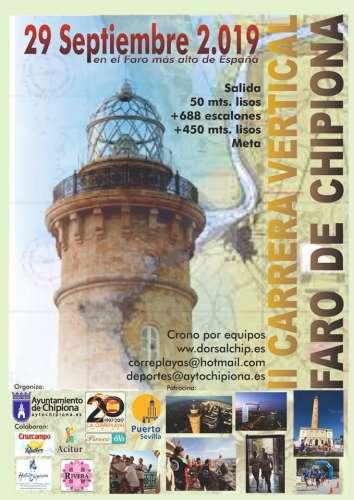 II Carrera Vertical Faro de Chipiona