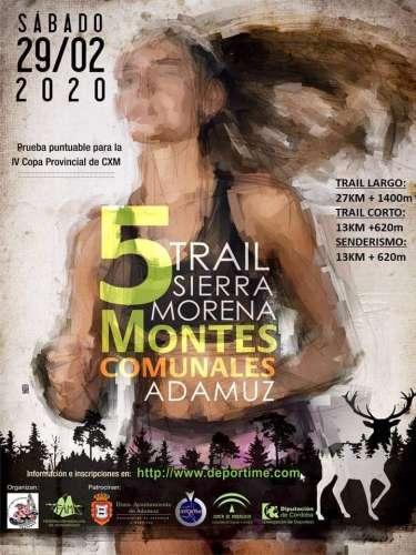 V Trail Sierra Morena Montes Comunales