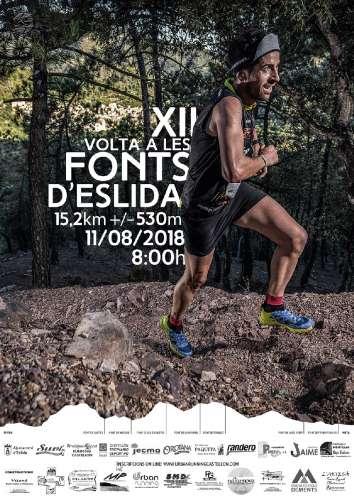 Trail Running XII Volta a Les Fonts DEslida