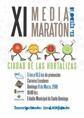 XI Media Maratón Ciudad de Las Hortalizas