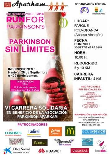 VI Carrera Solidaria Parkinson Sin Límites