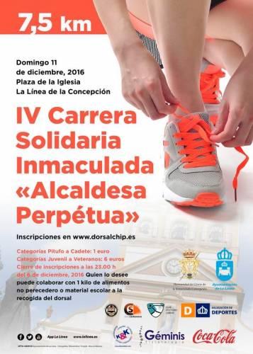 IV Carrera Popular Solidaria Inmaculada