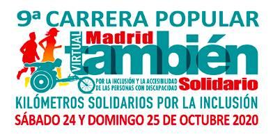 IX Carrera Popular Madrid También Solidario