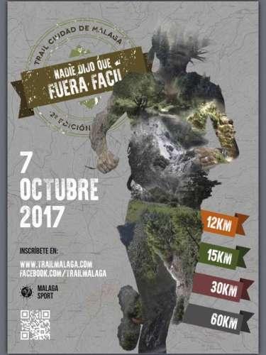 II Trail Ciudad de Málaga 60km