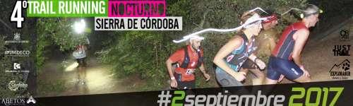 4º Trail Nocturno Sierra de Córdoba
