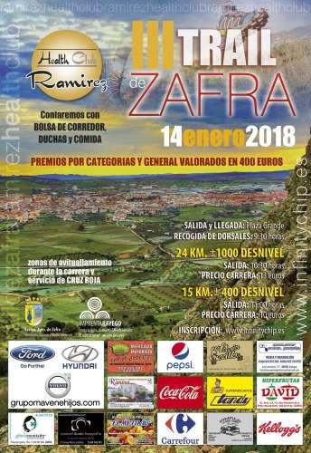 Carrera III Trail Ciudad de Zafra Ramirez Health Club
