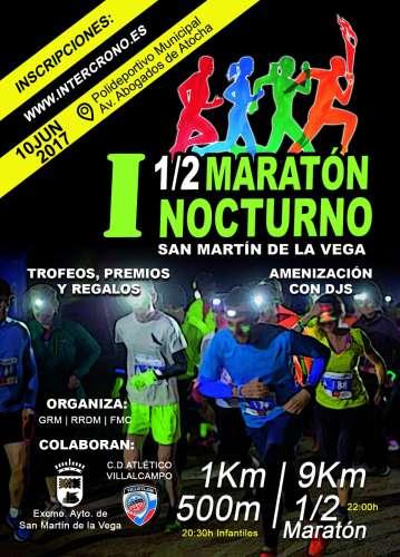 I Media Maratón Nocturna San Martin de la Vega