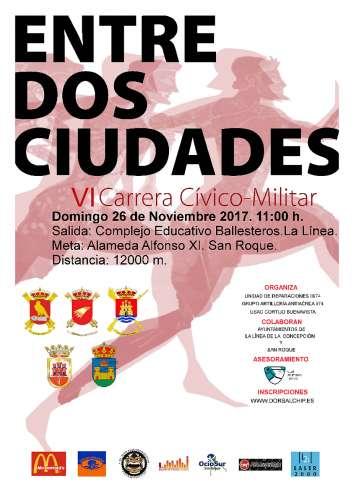 VI Carrera Cívico-Militar Entre Dos Ciudades