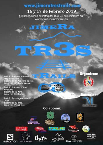 Trail Running V Jimera Tres Trails Etapa 1